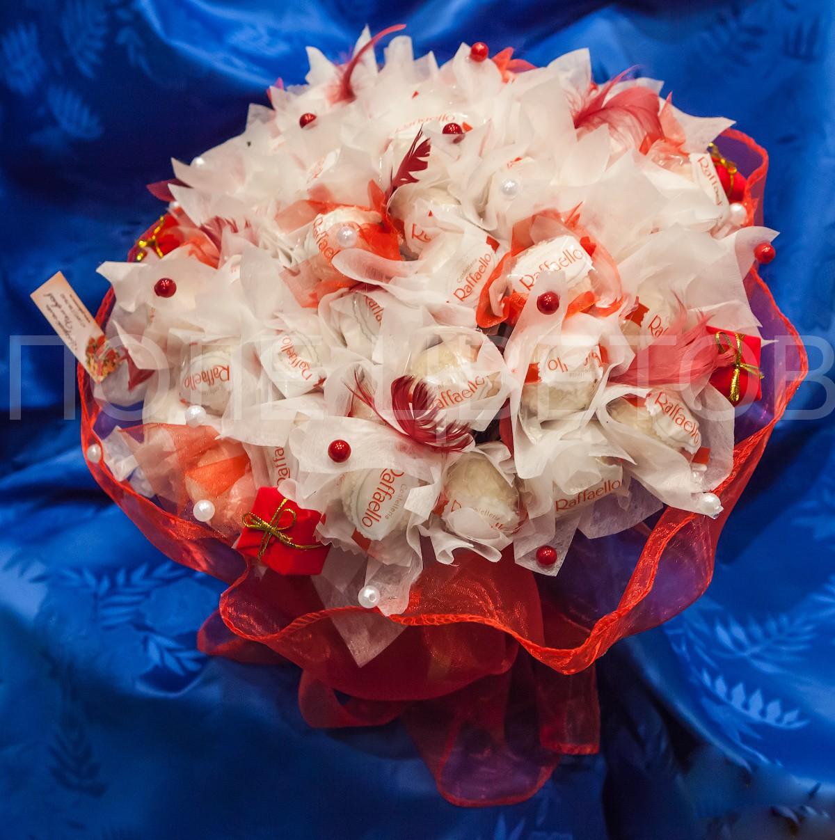 Букет конфет для любимого, свадебные букеты цены и доставка москва