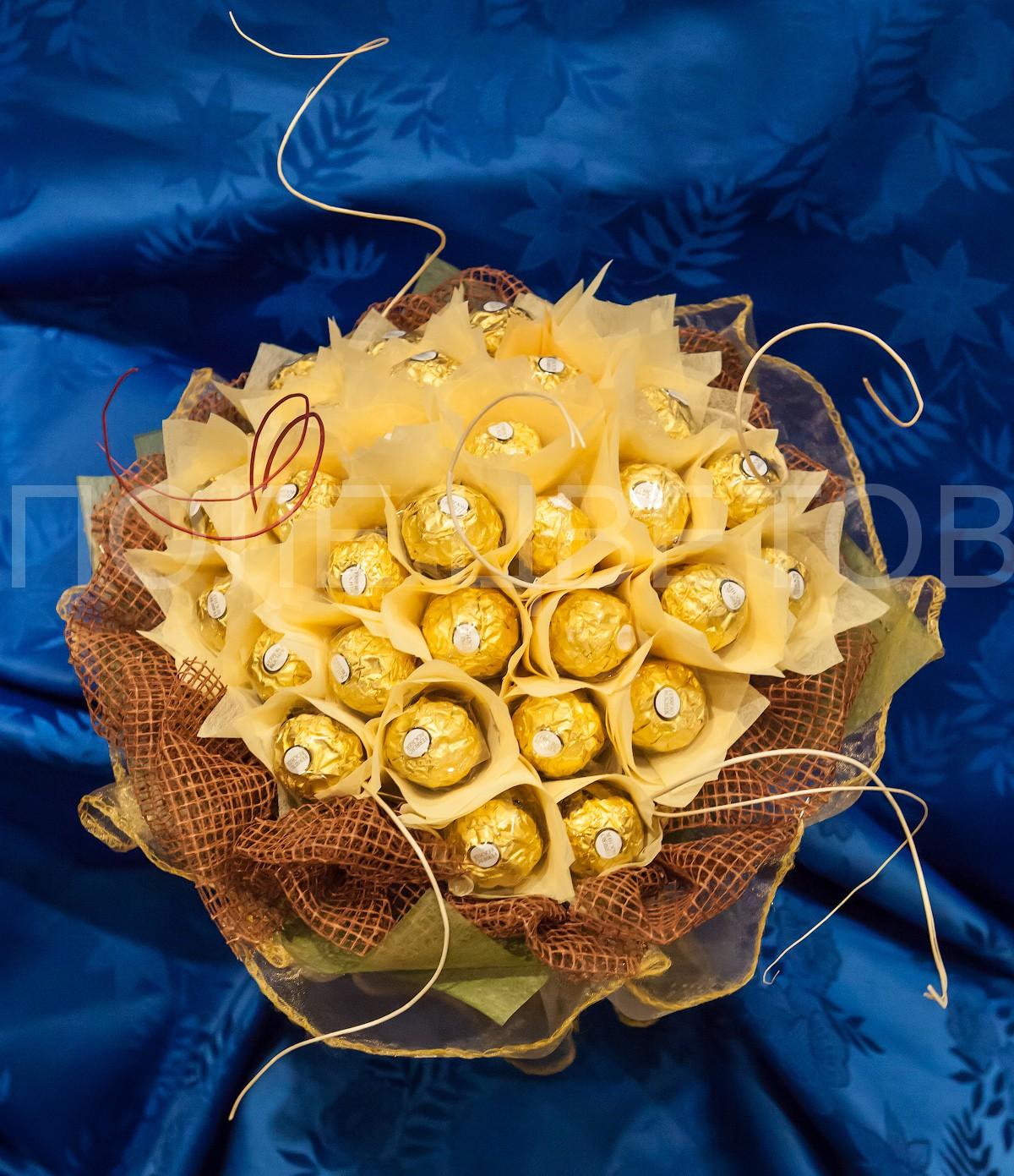 Букет своими руками из конфет ферреро роше
