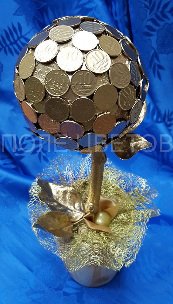Оригинальный подарок своими руками из монет 55